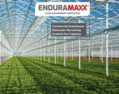 Enduramaxx Commercial Greenhouse Rainwater Harvesting Systems for Irrigation